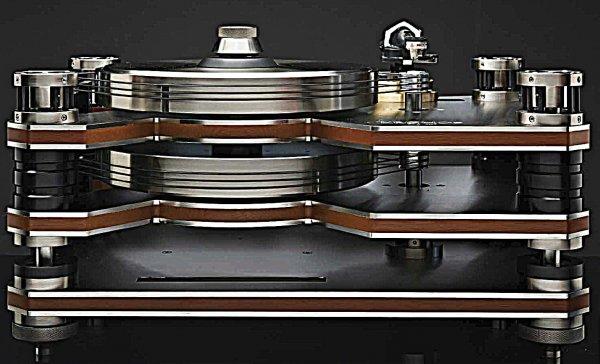 Kronos Audio представила виниловый проигрыватель с двойным диском